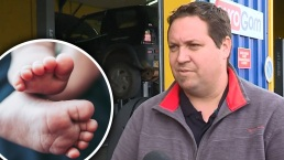 Perturbador secreto: mecánico descubre bebé en maletero