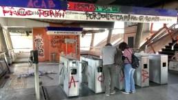Metro de Santiago de Chile resurge en medio de  protestas