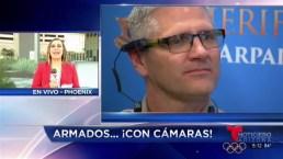 Video: Anuncian uso de cámaras corporales en Condado Maricopa