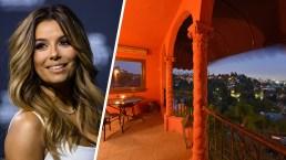 Eva Longoria vende su casa rosada en Hollywood Hills