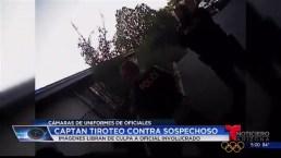 Video: Captan tiroteo contra sospechoso en Oro Valley