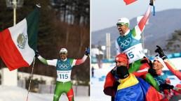 Último en cruzar la meta: esquiador mexicano recibe increíble ovación