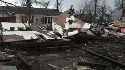 Tornado asesino causa estragos en pueblo universitario
