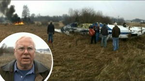 Lo que hizo un alcalde al ver estrellarse una avioneta