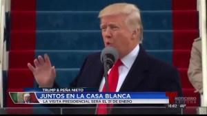 Trump y Peña Nieto: Juntos en la Casa Blanca
