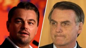 Leonardo DiCaprio y la fuerte acusación de un presidente