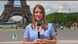 Francia un día antes de la Copa Mundial femenil