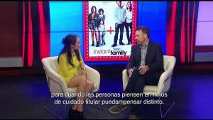 Entrevista al director de Instant Family