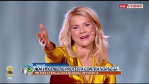 Renuncia al Mundial en protesta por malos tratos hacia la mujer