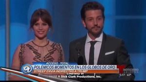 Premios y estrellas pero mucha controversia en los Golden Globes