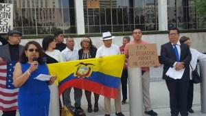 Solicitan TPS para ecuatorianos en EE.UU. tras terremoto