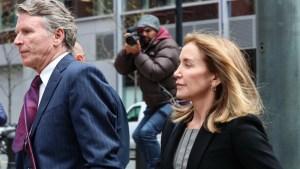 Actriz se declara culpable en escándalo universitario