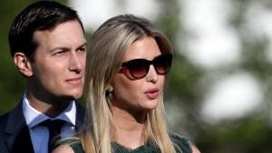 Presentan demanda contra Ivanka Trump y su esposo