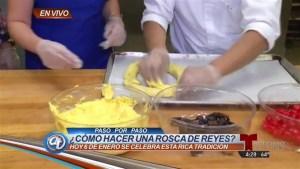 Cómo preparar la Rosca de Reyes