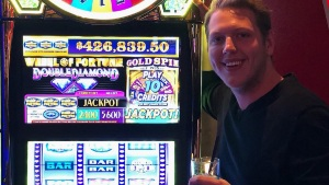 En Las Vegas por 1ª vez y ganó casi medio millón de dólares