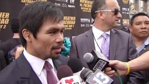 """Manny Pacquiao: """"probé drogas, todo tipo de drogas"""""""