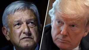 Amenazante: Trump da un ultimátum a México