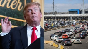 Trump analiza planes para un cierre fronterizo parcial