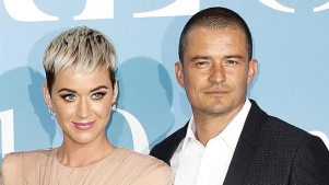 Katy Perry y Orlando Bloom de camino al altar
