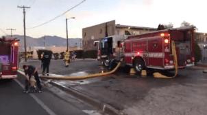 Incendio consume apartamento en Tucson