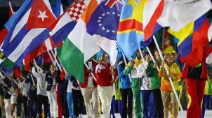 Atleta ve la clausura de Río 2016 desde un hospital