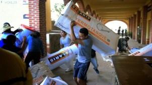 Activistas queman urnas de consulta sobre termoeléctrica