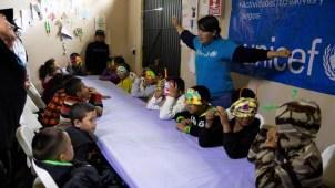 Unicef viaja a Tijuana para atender a niños migrantes