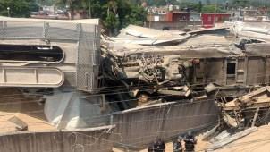 Otro tren descarrila en México; denuncian acto de sabotaje