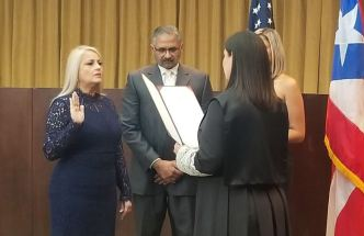 Wanda Vázquez juramenta como gobernadora de PR