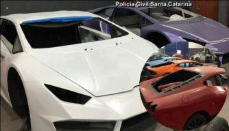 Superbaratos y ¡falsos!: allanan taller de réplicas de Ferrari y Lamborghini