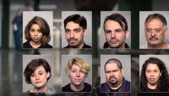 16 detenidos en Phoenix tras protestas a ICE