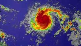 La tormenta tropical Jerry avanza por el Atlántico