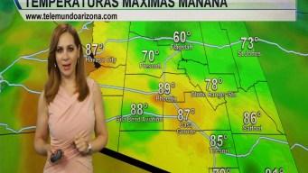 Suben las temperaturas a los 89 F