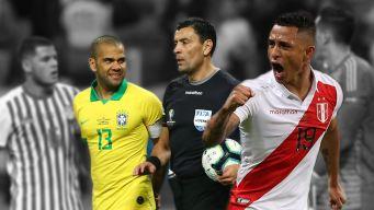 Un árbitro chileno para la final Brasil-Perú: los fans opinan