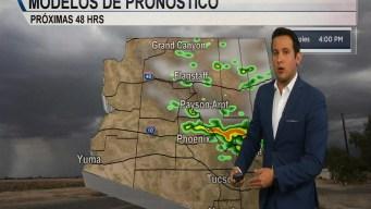 Vientos fuertes y  lluvias aisladas en el pronóstico del tiempo