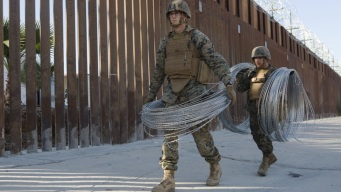 Comienza retiro de tropas en frontera con México