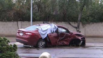 Pareja muere en accidente vehicular en Tempe