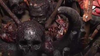 Analizan restos humanos hallados en Tepito
