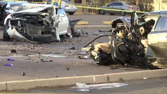 Aparatoso accidente en Glendale deja varios heridos