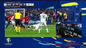 Gol de Chile: Vidal anota de penal tras revisión del VAR
