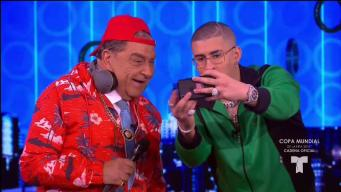 Bad Bunny enloquece al público de Don Francisco