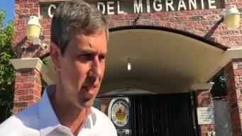 Beto O'Rourke viaja a México a visitar solicitantes de asilo
