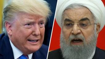 """Trump: Irán """"juega con fuego"""" tras violar acuerdo nuclear"""