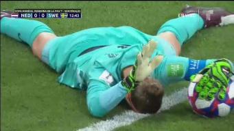 ¿Cómo falló ese gol? Ataque veloz de Suecia
