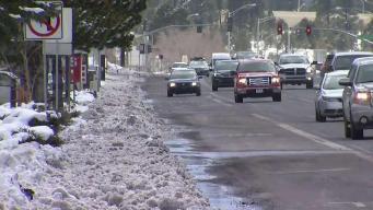 Prepara el vehículo contra el frío y la nieve