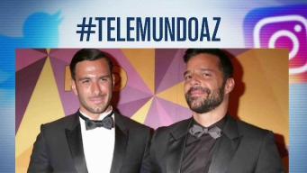 """Controversia en redes por anuncio de """"embarazo"""" de Ricky Martin"""