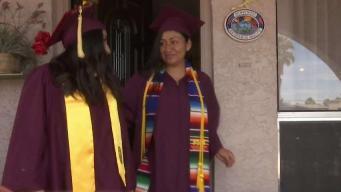Madres dreamers festejan 10 de mayo con graduación