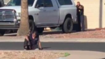 Exclusiva: Video de hombre baleado por policía de PHX