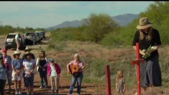 Feligreses rezan por migrantes en Tucson