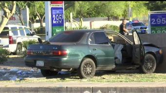 Glendale: Furia al volante deja dos heridos de bala